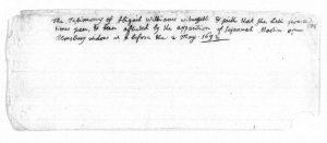 Abigail testimony 1692
